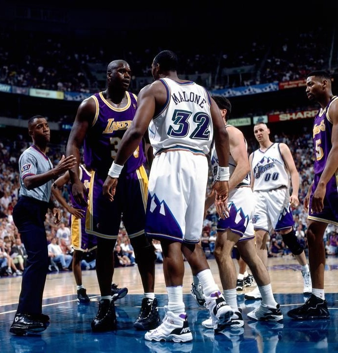 Shaquille O'Neal - Karl Malone