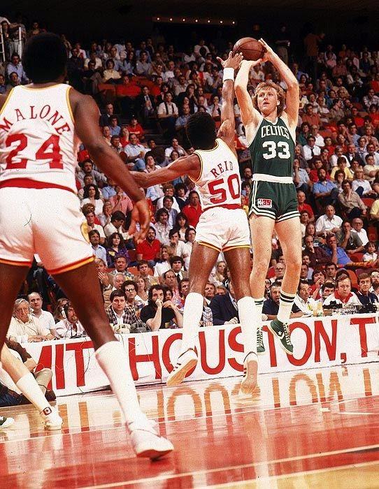 Larry Bird, NBA finals 1981