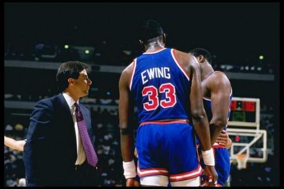 Rick Pitino & Pat Ewing