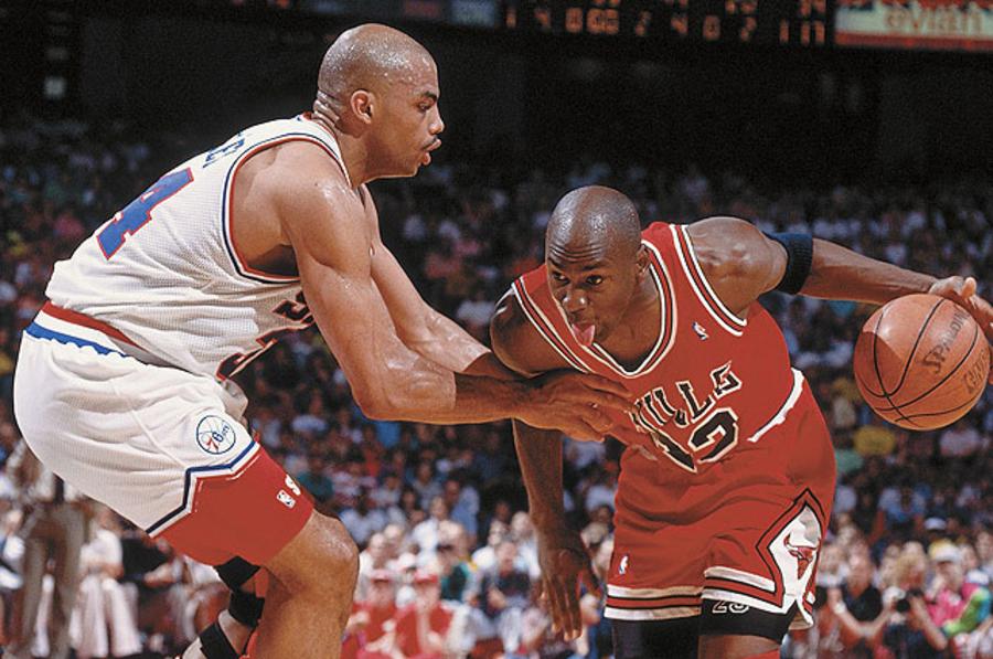 Michael Jordan - Charles Barkley