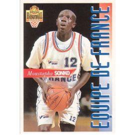 Moustapha-Sonko-Official-Basketball-Panini-95-N-Fr19-Cartes-de-jeux-844835393_ML