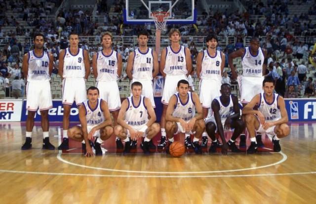 L'Équipe de France 1995, coachée par Michel Gomez