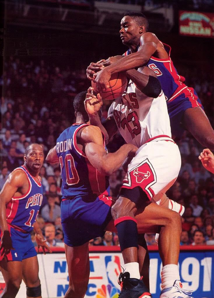 Pistons - Bulls, Jordan, Rodman, Thomas