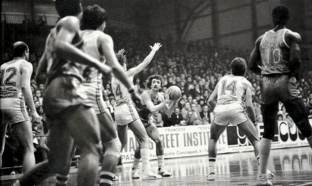 Ed Murphy - Finale de la coupe Korac 1982