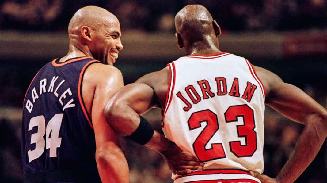 Finales NBA 1993 - Charles Barkley et Michael Jordan
